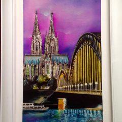 Ilustración Köln en color