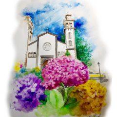 Ilustración Flores de mundo