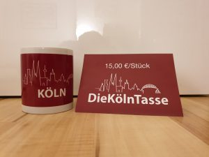 DieKölnTasse. Kaffeetasse bzw. Teetasse für Kölner & Kölnliebhaber etc.