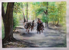 La Arriera Watercolor